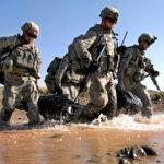 Cavalrymen patrol Paktika province