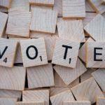 Word Letters Scrabble Vote